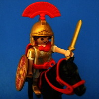 Playmobil Optión Romano a caballo