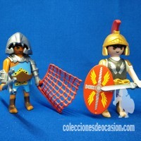 Playmobil Tribuno y gladiador REF 5817 Duo Pack