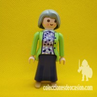 Playmobil Abuela, anciana, mujer vintage