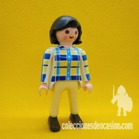 Playmobil Mujer actual, chica morena city