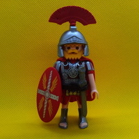 Playmobil Optión romano, centurión