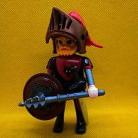 Playmobil Caballero lobo customizado