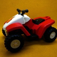 Playmobil Quad rojo y blanco