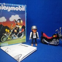 Playmobil Moto chopper REF 3831