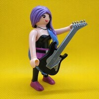 Playmobil Rockera, guitarrista