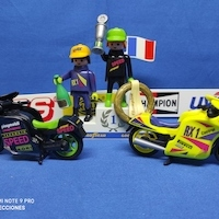 Playmobil Podium de motos REF 3779