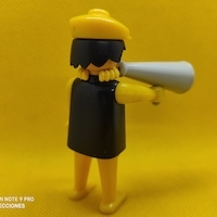 Playmobil Director de cine, click