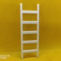Playmobil Escalera blanca, playmobil color