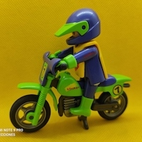 Playmobil Motorista de motocross jumper Nº 7