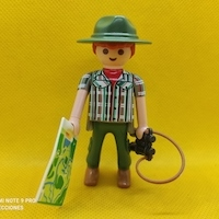 Playmobil Profesiones guardas forestales