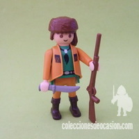 Playmobil Explorador del oeste, trampero, David Boone