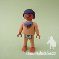Playmobil Niño indio descalzo