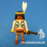 Playmobil Indio explorador, rastreador, apache