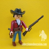 Playmobil Sheriff con winchister