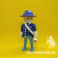 Playmobil Oficial del Norte, general Yanqui
