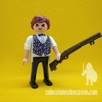 Playmobil Barman del oeste, ganster