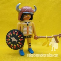 Playmobil Guerrero indio Coyote colorado