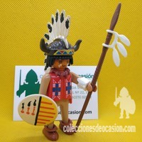 Playmobil Jefe indio con mocasines