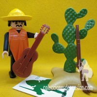 Playmobil Mexicano con guitarra REF 3384