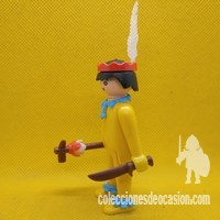 Playmobil Antiguo indio de manos fijas, click