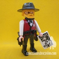 Playmobil Sheriff, marshall con barba