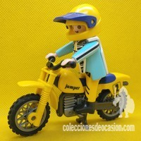 Playmobil Motorista de motocross