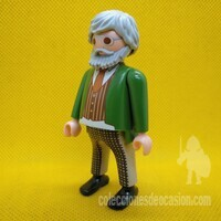 Playmobil Anciano, abuelo vintage