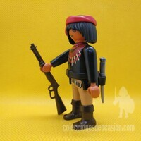 Playmobil Apache, indio, explorador